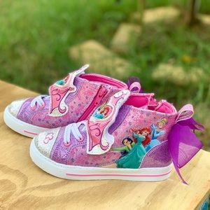 Other - Disney Princess Toddler Ribbon High-Top Sneakers